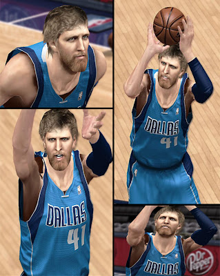 NBA 2K13 Dirk Nowitzki Long Beard Update