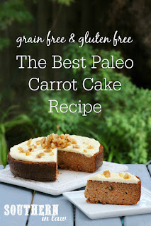 The Best Paleo Carrot Cake Recipe
