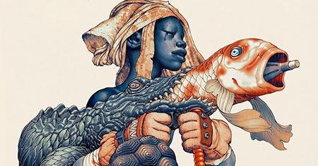 ilustraciones - Magazine cover