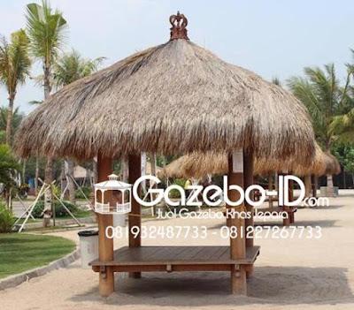 Gazebo Pantai Glugu Jepara