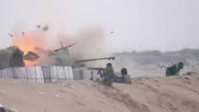 فيديو لحظة الهجوم على كمين عيون موسى في جنوب سيناء، والذي وقع فجر اليوم الجمعة