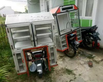 model gerobak bakso dan mie ayam terbaru