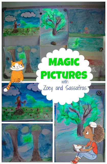 Make Magic Pictures with Zoey and Sassafras