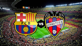 مباراة برشلونة ليفانتي مباشر