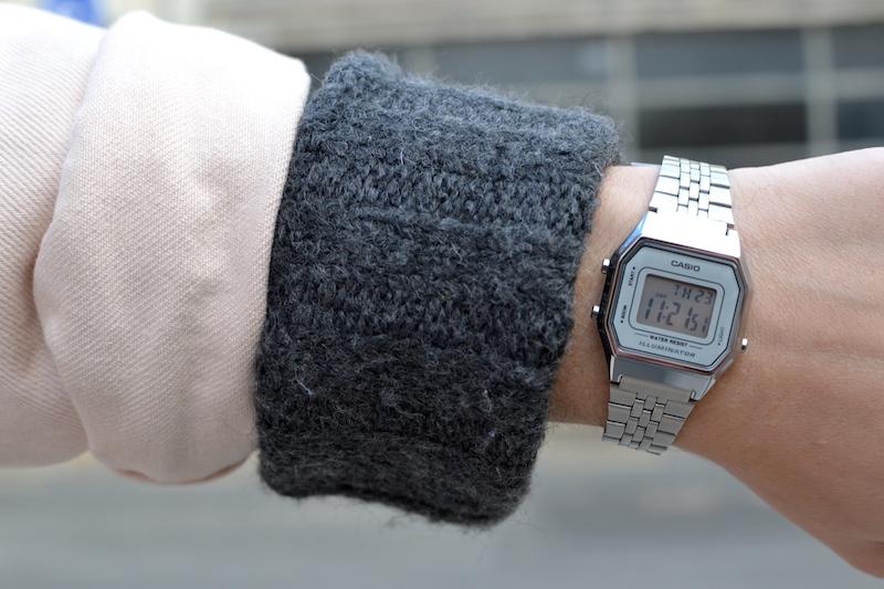 montre argenté Casio
