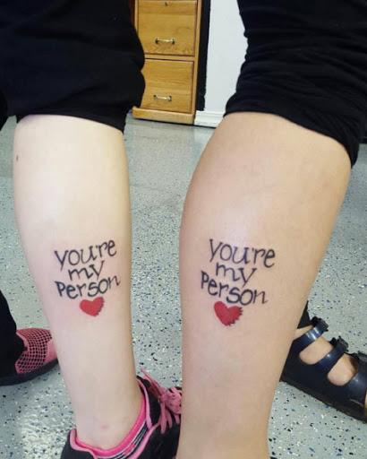 Estes adoráveis perna tats