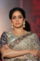 Sri Devi in designer saree stunning beauty at the launch of MOM movie Trailer~  Exclusive 052.JPG