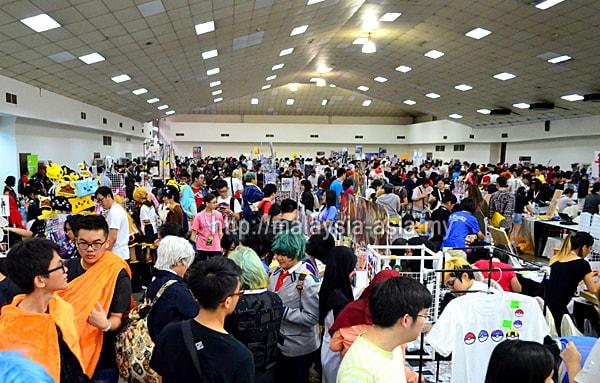 Bazaar at Comic Fiesta Malaysia