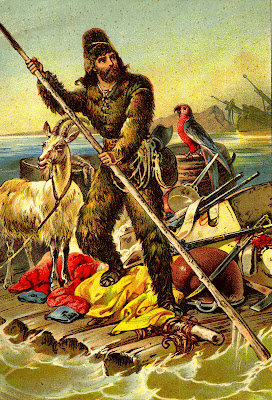 Robinson Crusoe on Raft