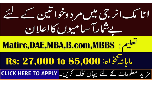Pakistan Atomic Energy Commission PAEC Jobs May 2019 - ShakirJobs
