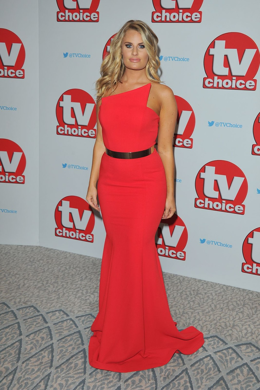 HD Photos of Danielle Armstrong At TV Choice Awards In London