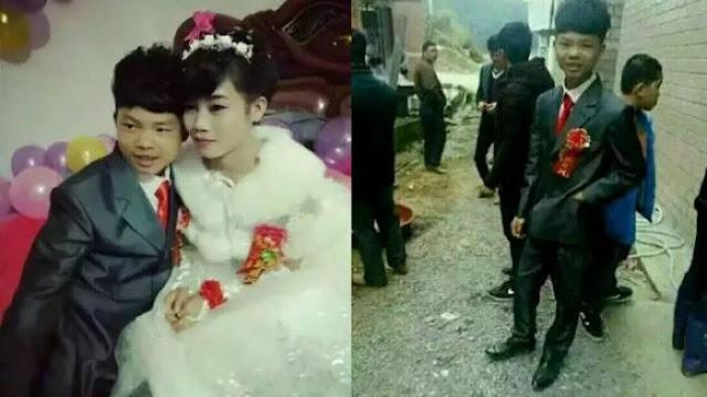 Sama-sama Berusia 16 Tahun Ini Menikah dan Hebohkan Netizen