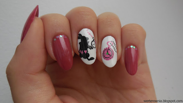 time nailart