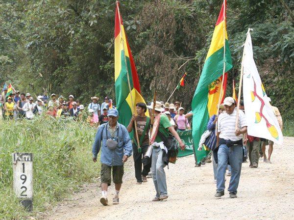 La octava marcha indígena de 2011 logró la Ley 180 de intangibilidad que está a punto se ser abrogada
