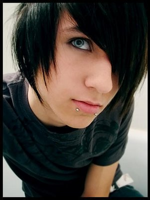 emo hairstyles part 7