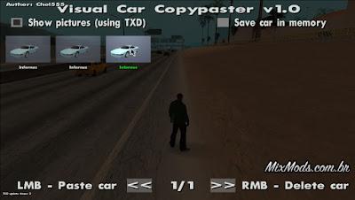gta mod visual car copypaster