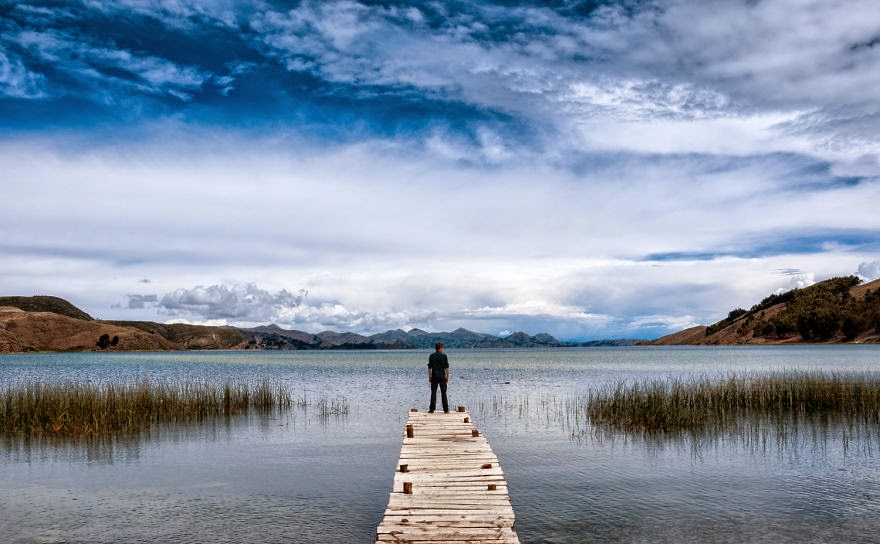 Lake Titicaca Pier - Bolivian Paradise I Traveled For 3 Months Through The Land Of Wonders