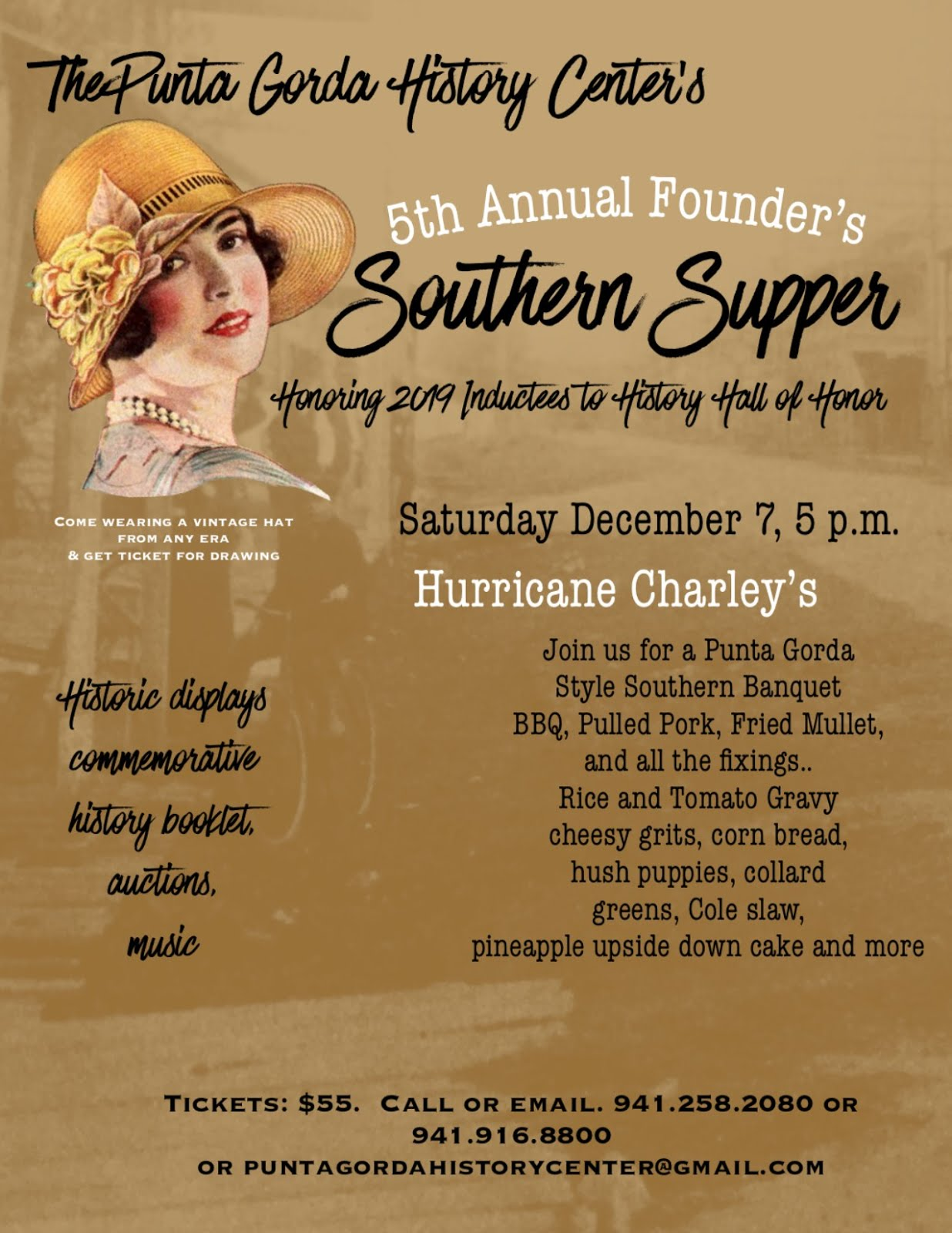 Tickets for Southern Supper
