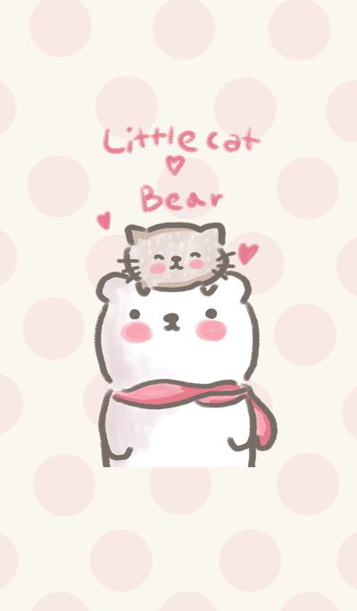 little cat & bear