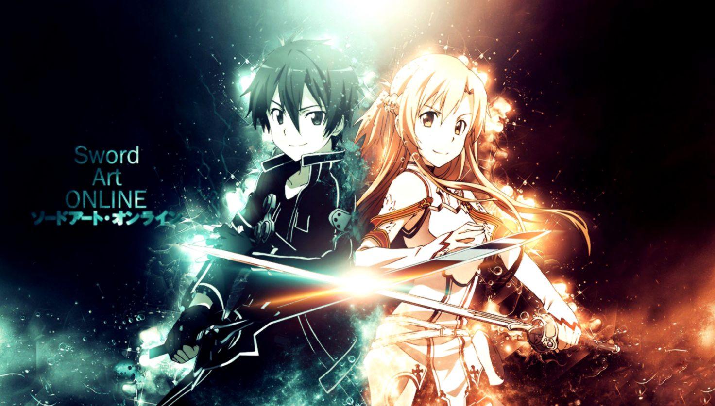 Sword Art Online Asuna Kirito Wallpaper Like Wallpapers