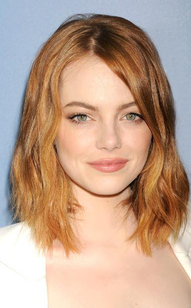 dazzling emma stone hairstyles
