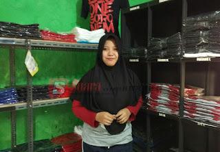 """Kaos Polos """"Gonem"""" Kebanjiran Order di HUT Kemerdekaan RI Ke-72"""