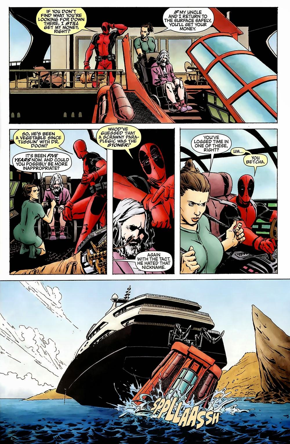Deadpool Team-Up #895 VF 2010 Stock Image