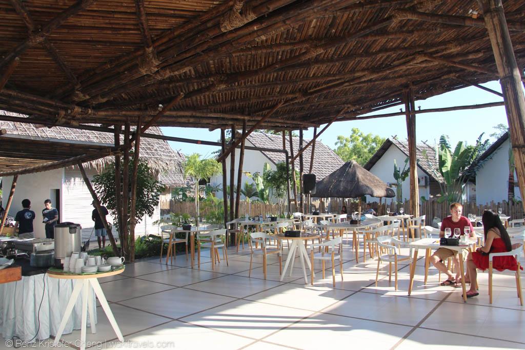 Dining Area Of Blue Palawan Resort