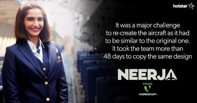 'Neerja' Movie Premier on Star Plus HD Tv Channel Wiki Full Detail