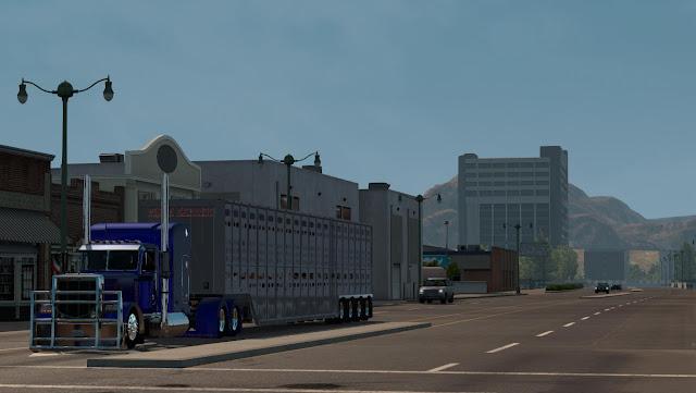 American Truck Simulator LIVETOCK 4EIXO V1.0 TRAILER Download MODs