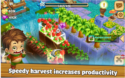 Cube Skyland: Farm Craft APK