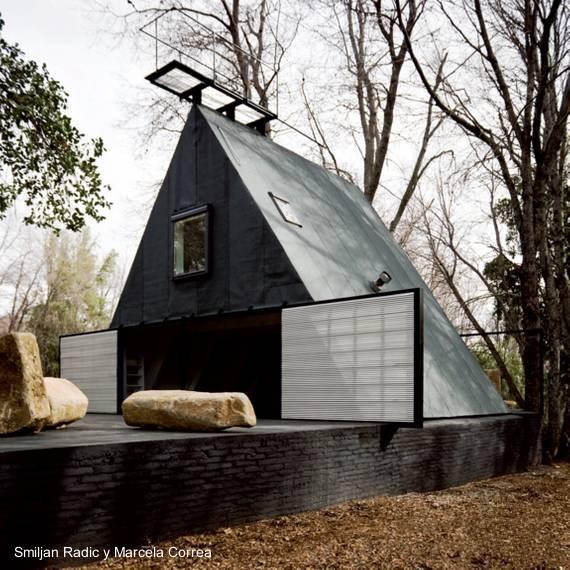 Arquitectura de casas fotos de casas alpinas - Casas de madera diseno moderno ...