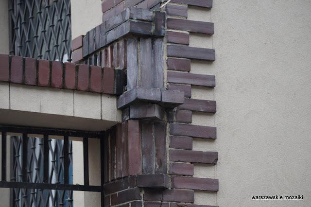 Warszawa Warsaw kamienica Mokotów architektura Mokotowa willa budynek Jan Koszczyc Witkiewicz cegła