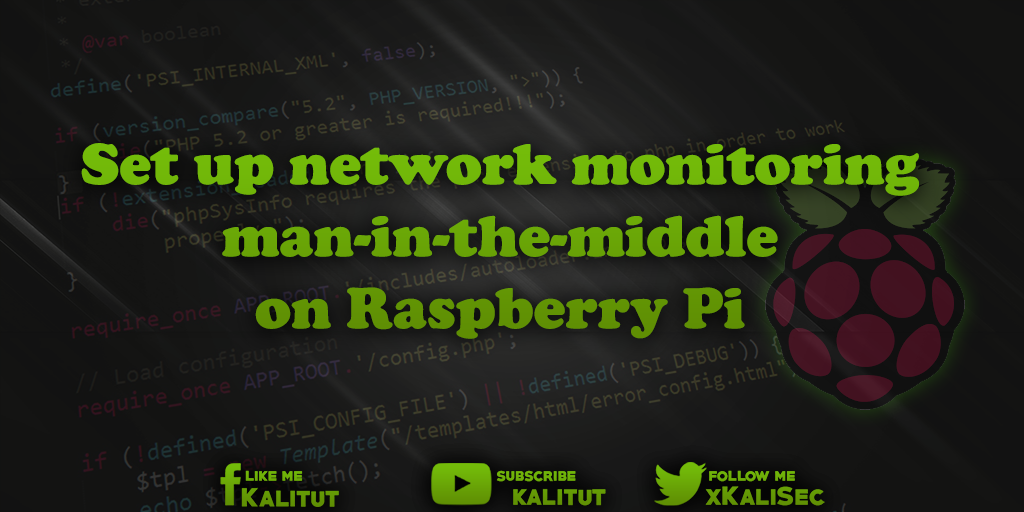 man-in-the-middle on Raspberry Pi