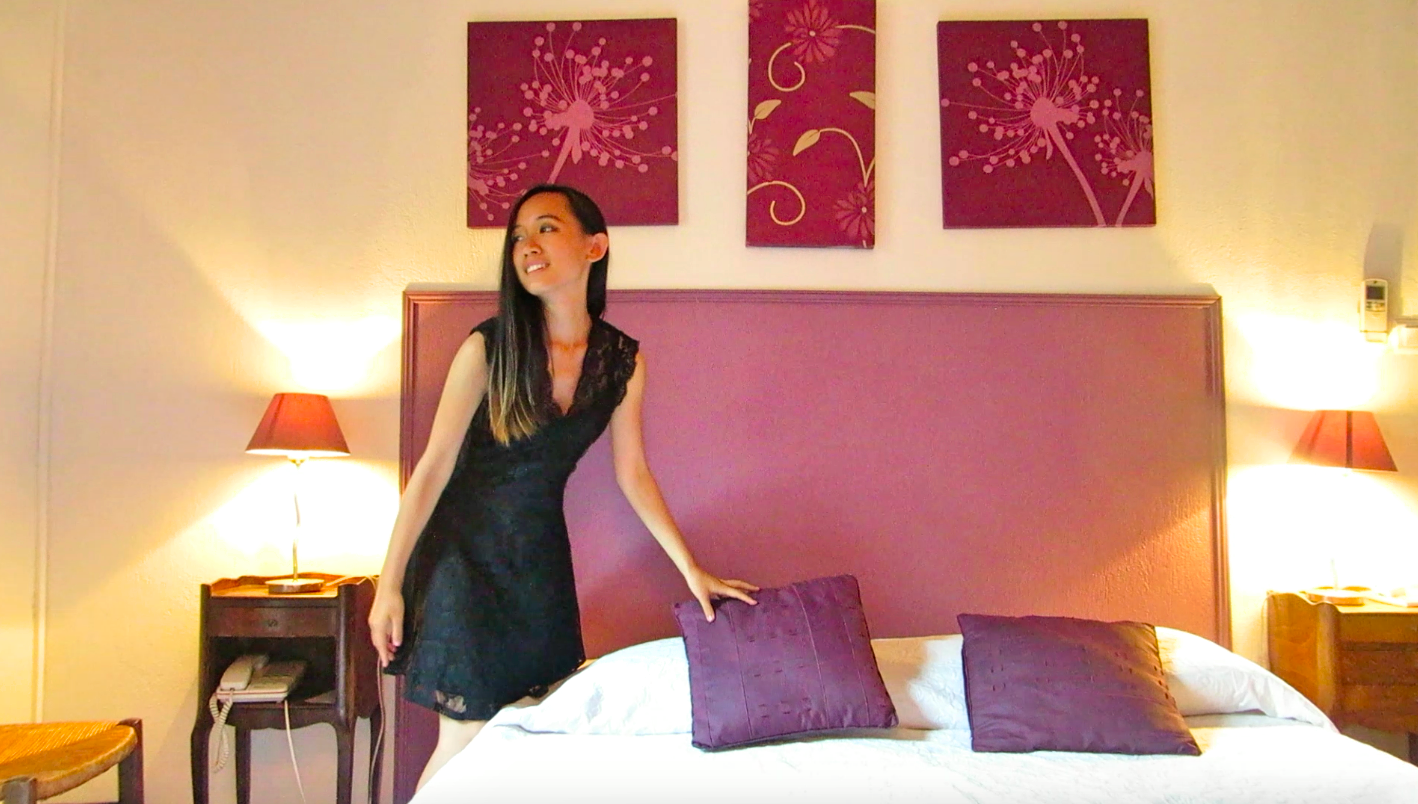 Miss Happyfeet  Waking Up In  Hotel Boquier  Avignon  France