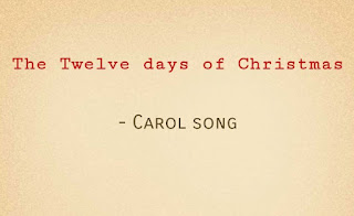 Tonic solfa of twelve days of Christmas