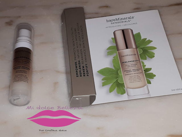 BAREMINERALS Skinlongevity® Vital Power Serum