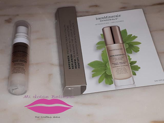 BAREMINERALS Skinlongevity® Vital Power Serum