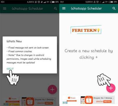 Nih bagi kau yang sibuk banget dengan pekerjaannya Nih Cara Kirim Pesan di WhatsApp Secara Otomatis (Atur Jadwal Sendiri)
