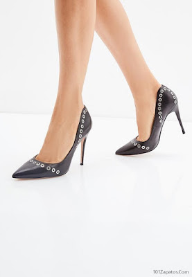 Tacones Negro Altos