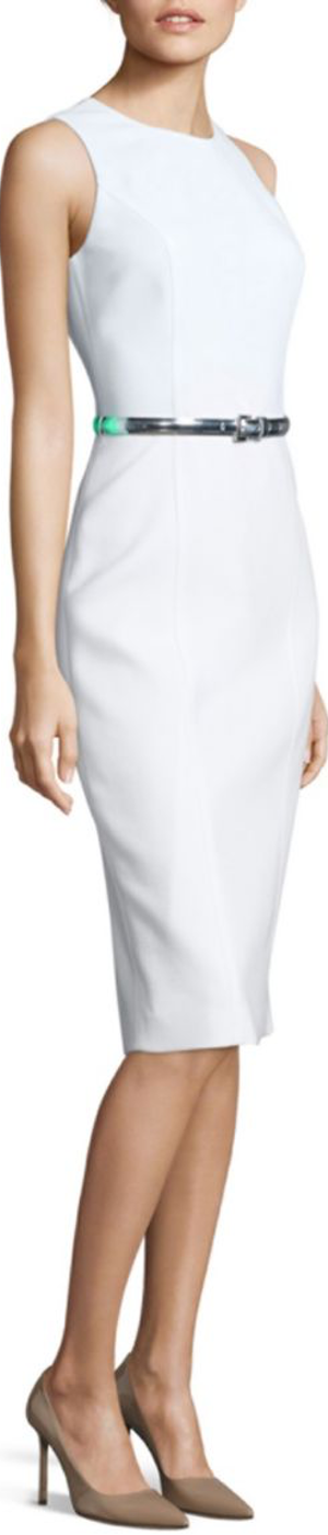 Michael Kors Collection Wool Blend Dress