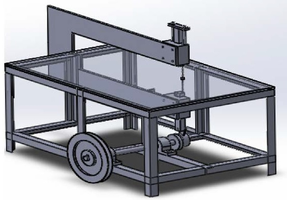 Jig saw machine -Mechanical Diploma Project