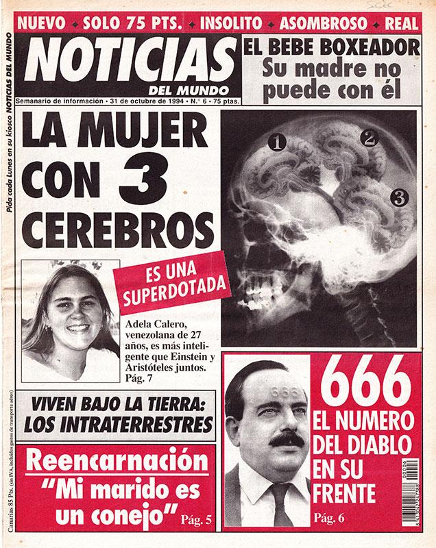 Periódico Noticias del Mundo Número 6