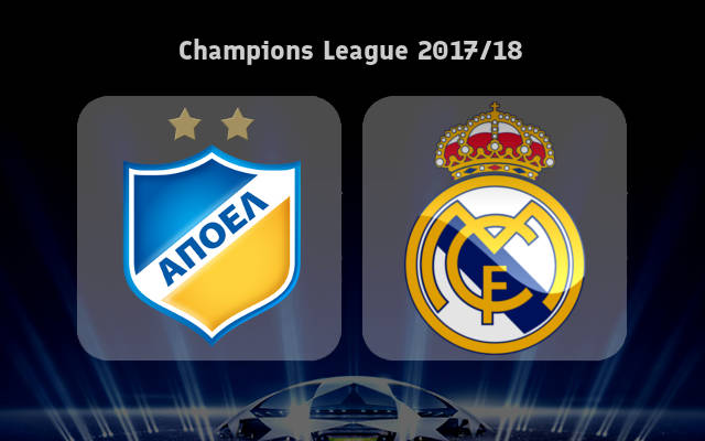 APOEL Nicosia vs Real Madrid Full Match & Highlights 21 November 2017