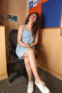 Actress Shraddha Das  Stills at tur Talkies Promo Song Launch at Radio City  0022