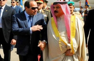 عاهل البحرين يصرح بقوة مصر فهي سند العرب