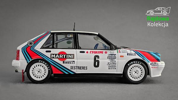 IXO Altaya Lancia Delta HF 4WD, Rally Monte Carlo 1987