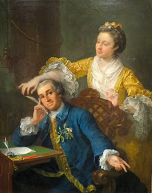 David Garrick and his wife, Eva-Maria Veigel by William Hogarth (1757-64)