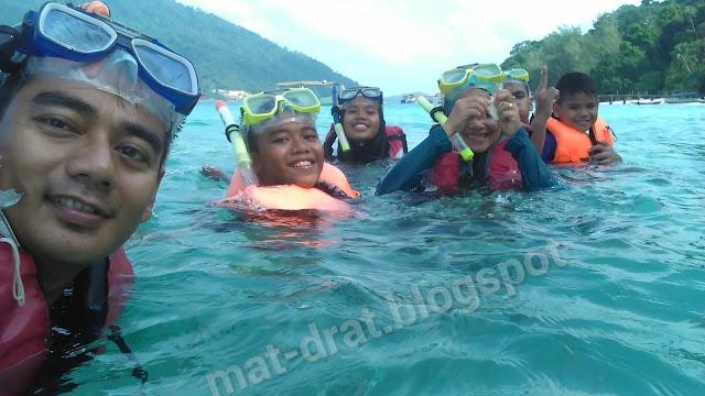Snorkeling Pakej Murah Pulau Perhentian - Trip Perhentian