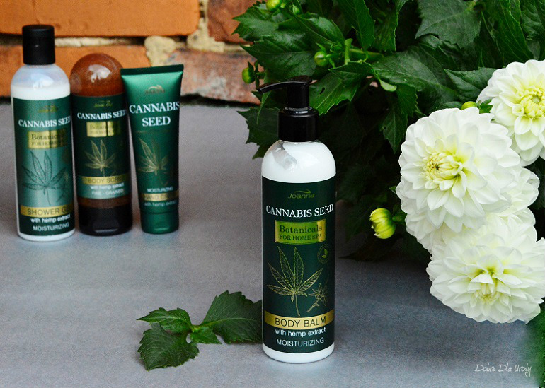 Joanna Botanicals for Home Spa Cannabis Seeds Nawilżający Balsam do ciała z Ekstraktem z Konopi  recenzja